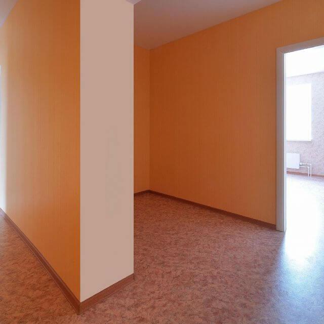 Чистовая отделка 3-х комнатной квартиры